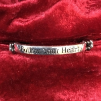 Armband Affirmationshilfe Follow your heart